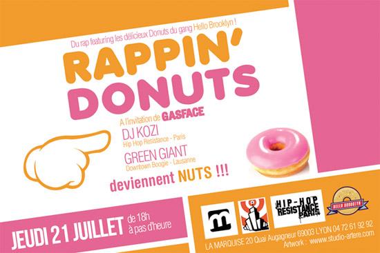 lyon - rappin donuts