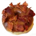 donut sirop d'érable bacon