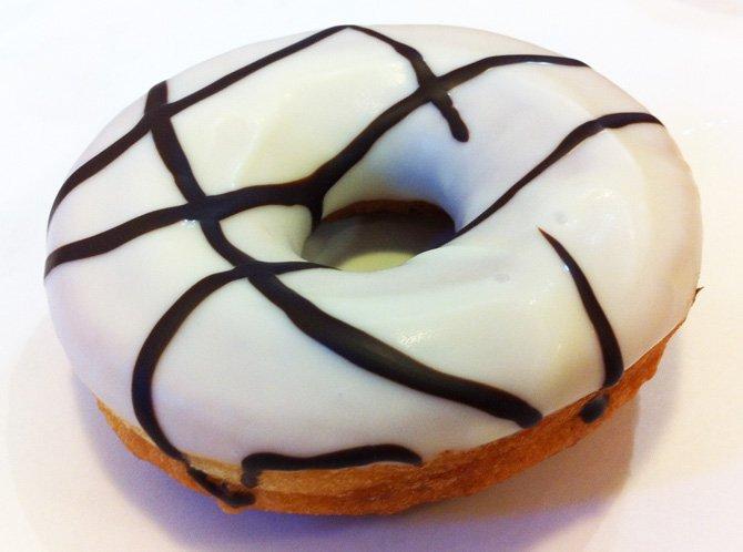 doughnut chocolat blanc
