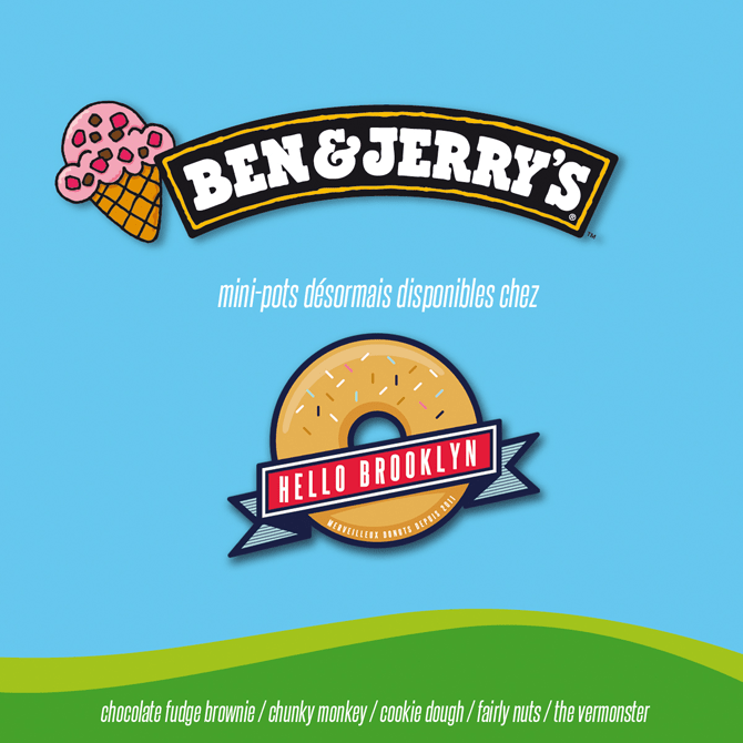 glaces ben & jerry's