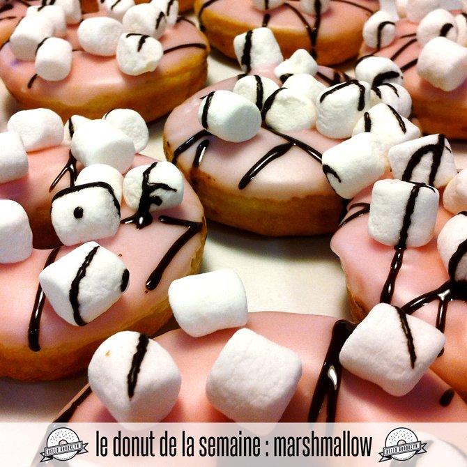 marshmallow doughnut