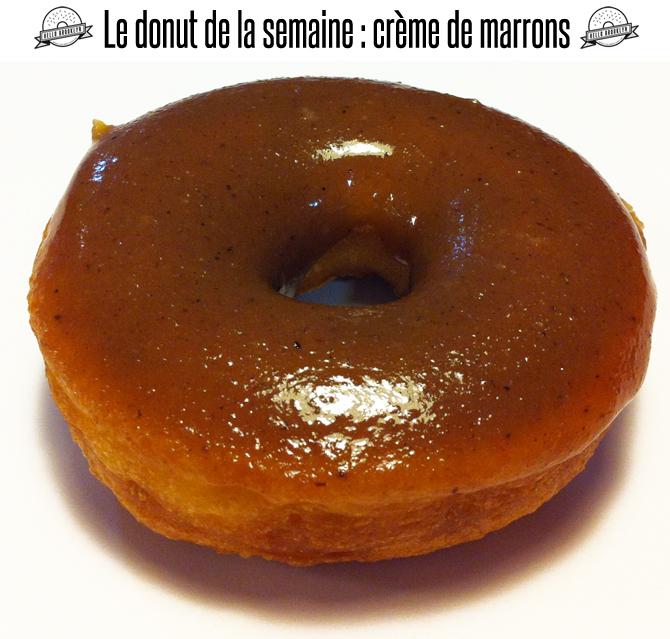 donuts creme marron