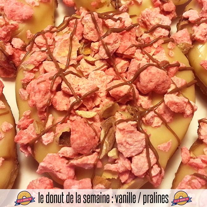 vanille / pralines