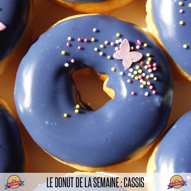 donut cassis