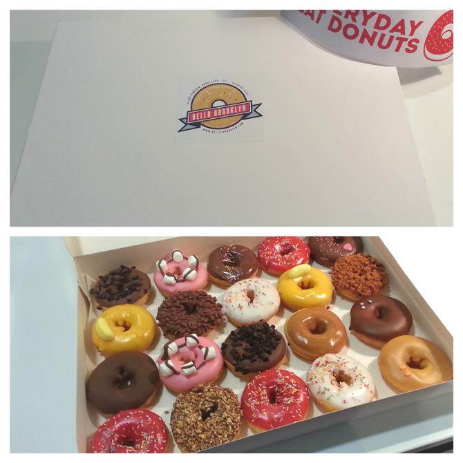 boite de 20 donuts