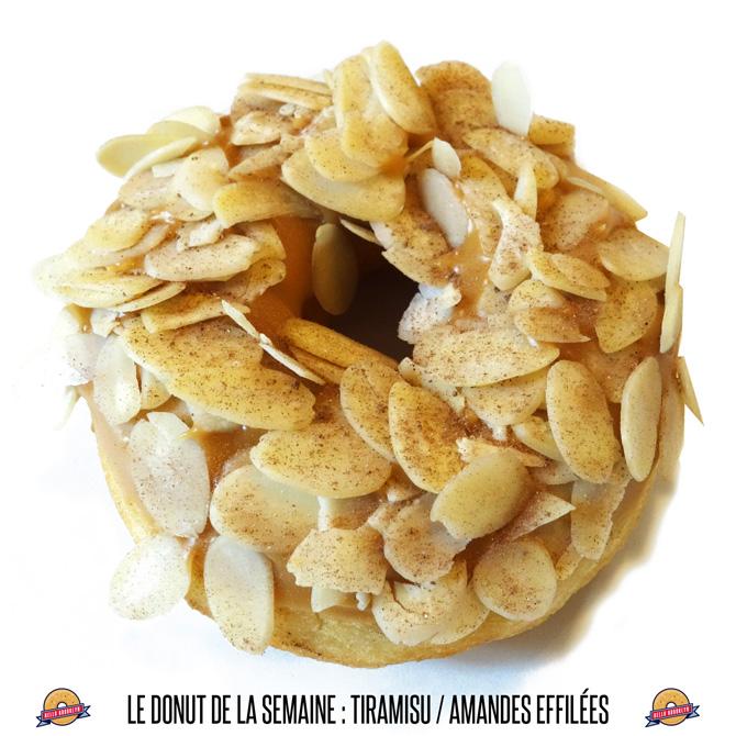 donut amandes effilées