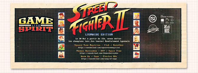 Tournoi street fighter 2