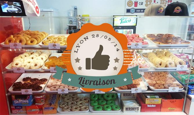 livraison de donuts sur Lyon