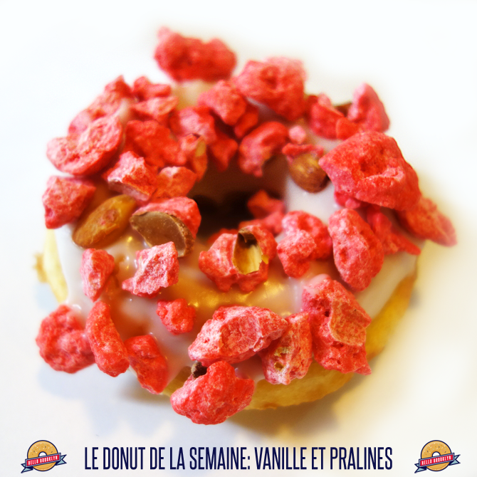 donut pralines