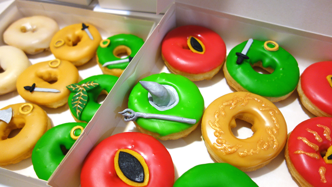 donuts hobbit