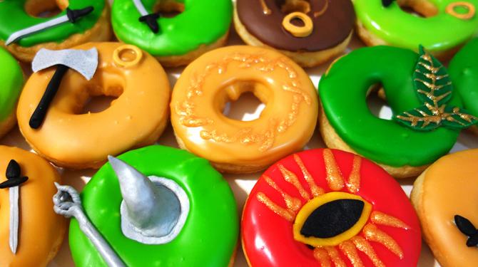 donuts seigneur des anneaux