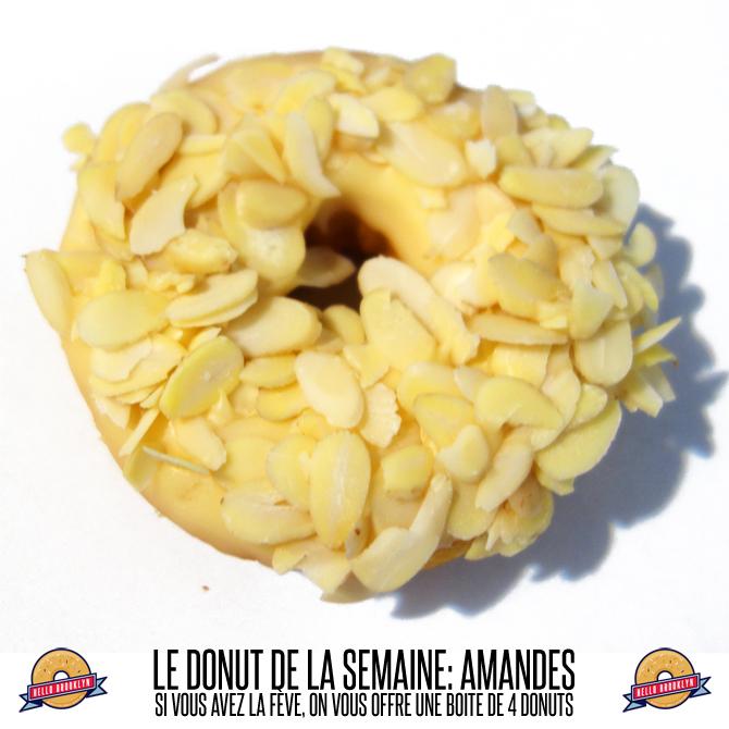 douhnut almond