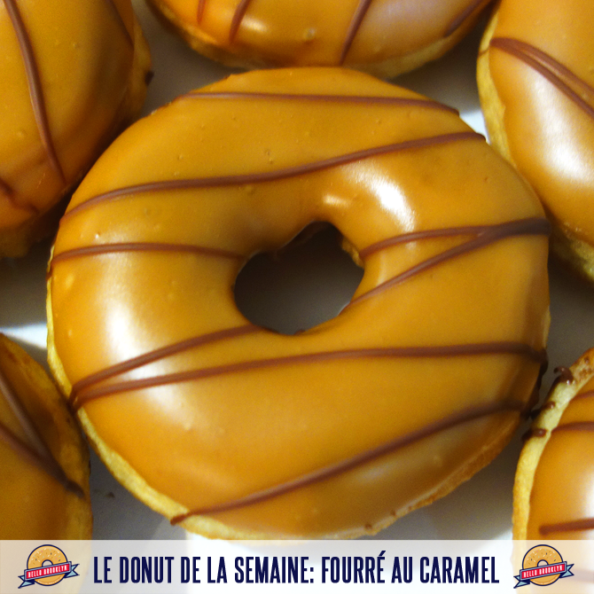 donut fourré caramel