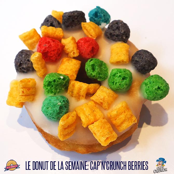 Le donut de la semaine: Cap'n Crunch Berries!