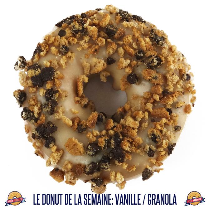 vanille & granola