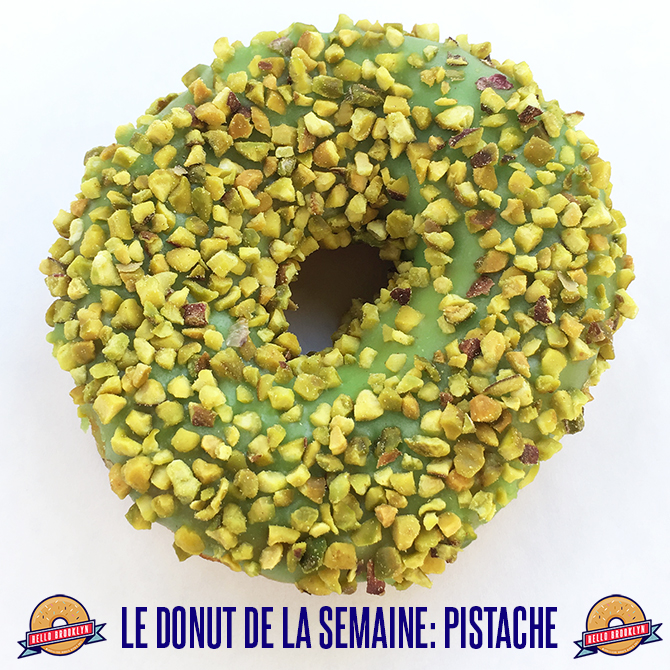 donut pistache