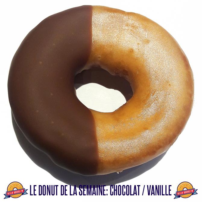 donut choco vanille