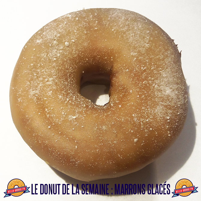 donut marrons glaces