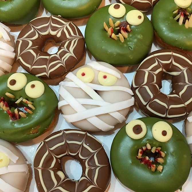 donut halloween