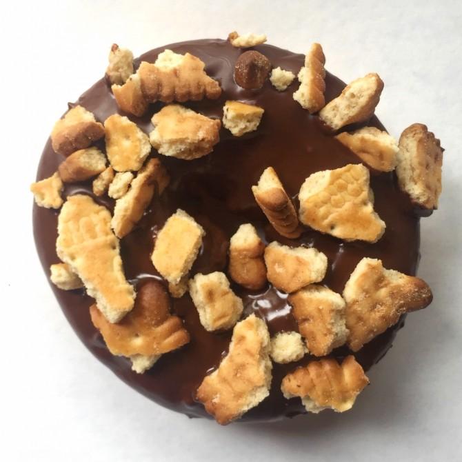 donut chocolat et petit beurre