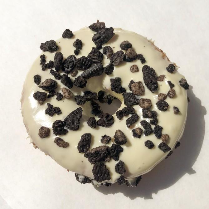 donut chocolat blanc oreo